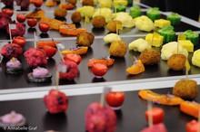 Fingerfood in Regenbogenfarben