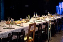 "Inszeniertes Dinner Event ""Garden on Stage"""